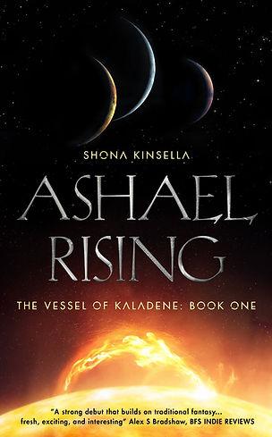 Ashael Rising Cover