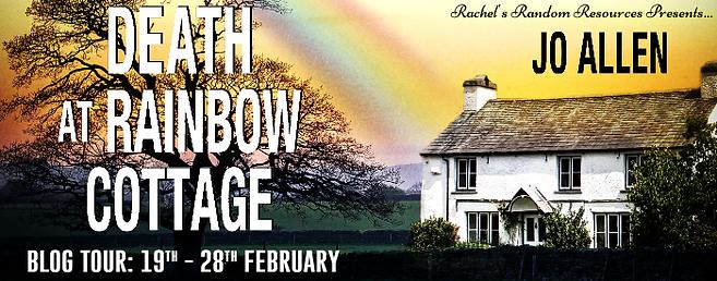 Death at Rainbow Cottage Banner