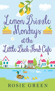 Lemon Drizzle Mondays at the Little Duck Pond Cafe Cover