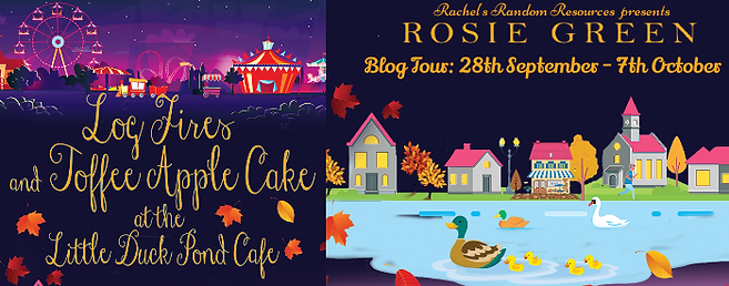 Log Fires & Toffee Apple Cake at the Little Duck Pond Cafe Banner