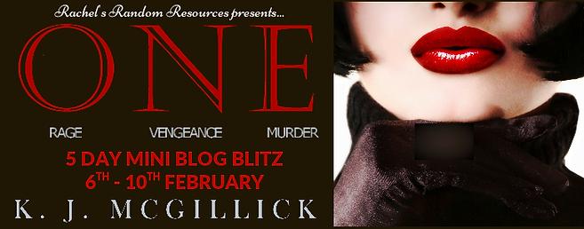 One: Rage Vengeance Murder Banner