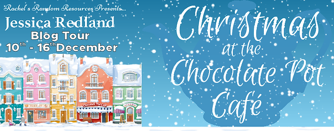 Christmas at The Chocolate Pot Café Banner