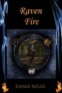 Raven Fire Cover