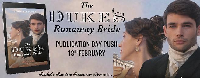 The Duke's Runaway Bride Banner