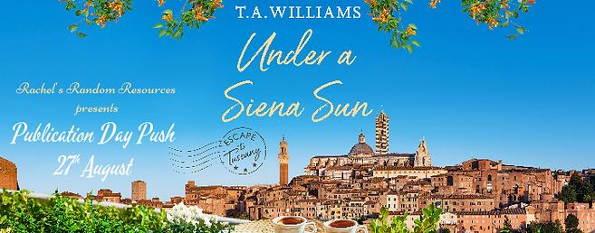Under a Siena Sun Banner