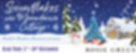 Snowflakes over Moondance Cottage Banner