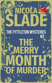 The Merry Month of Murder Cover