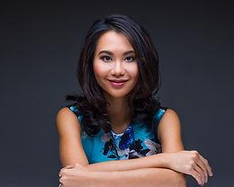 Felicia Yap. Author Portrait