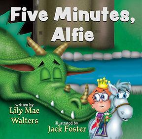 Five Minutes, Alfie! Cover