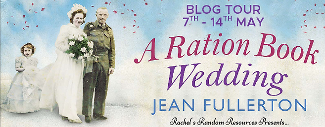 A Ration Book Wedding Banner