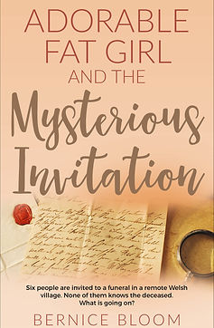 Adorable Fat Girl and the Mysterious Invitation Cover