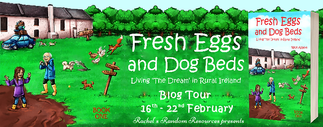 Fresh Eggs and Dog Beds Banner