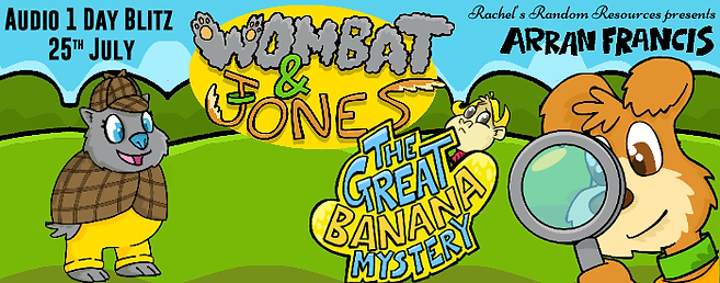 Wombat & Jones: The Great Banana Mystery Banner