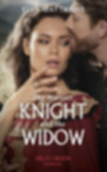 The Warrior Knight and the Widow Cover
