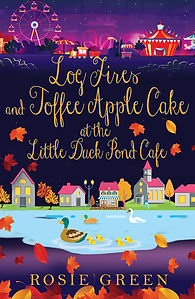 Log Fires & Toffee Apple Cake at the Little Duck Pond Cafe Cover