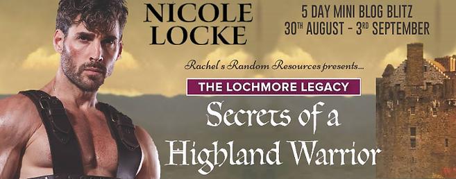Secrets of a Highland Warrior Banner