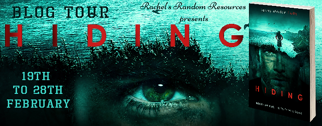 Hiding Blog Tour Banner