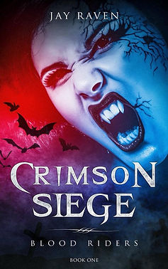 Crimson Siege - Blood Riders Book One Cover