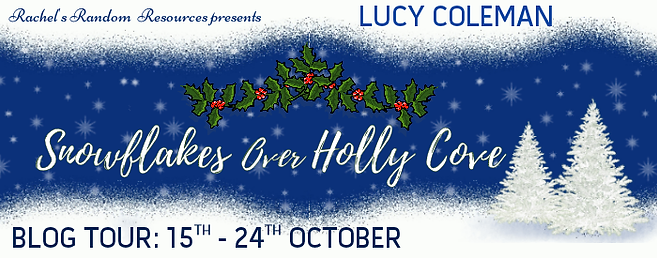 Snowflakes Over Holly Cove Banner