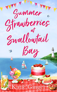 Summer Strawberries at Swallowtail Bay Cover