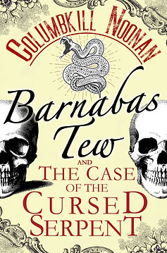 Barnabas Tew and the Case of the Cursed Serpent Cover