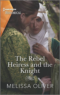 The Rebel Heiress and the Knight Cover