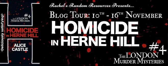Homicide in Herne Hill Banner