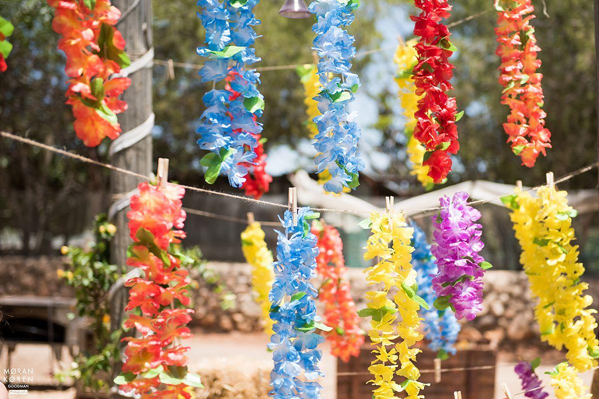חתונה צבעונית בחווה