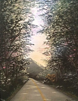 """Peaceful Journey -16"""" by 20"""" Original Oil"""