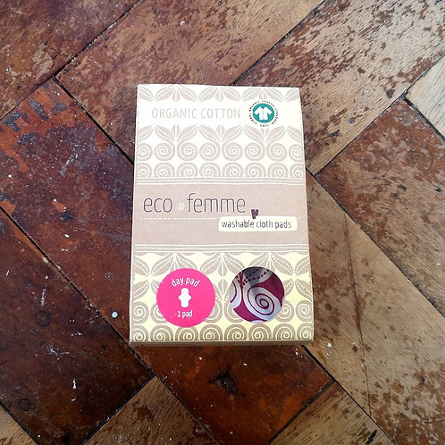 Eco Femme - Organic Cotton Day Pad  (single)