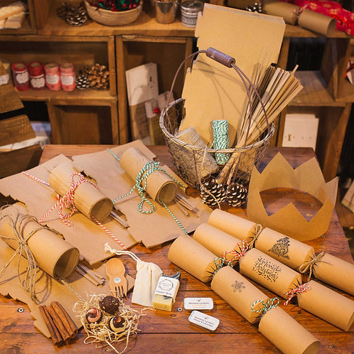 Recyclable Christmas Crackers - pack of 6