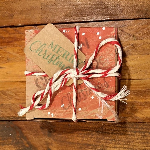 Chocbox Truffles 4pcs in Christmas Box