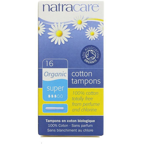 Natracare Tampons Super (box of 16)