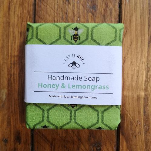 Honey & Lemongrass Soap - Made in Bournville