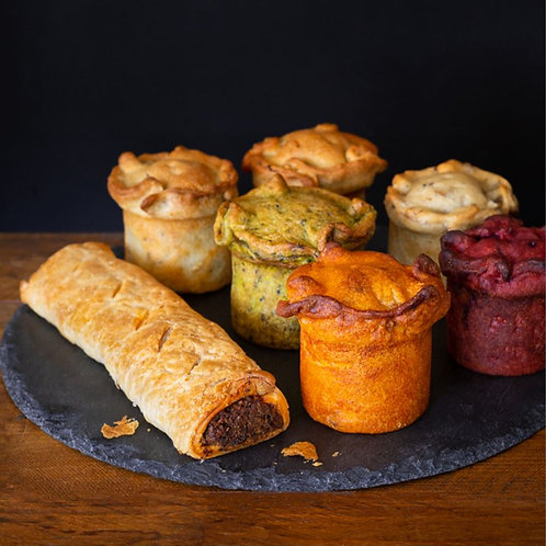 Rourke's vegan pies - made in King's Heath/ Weds to Sat