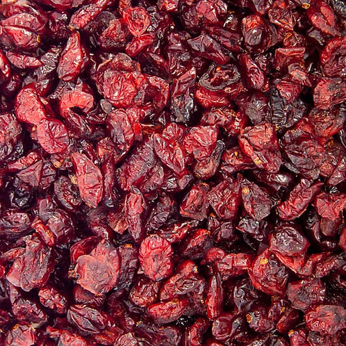 Dried cranberries (per 100g)