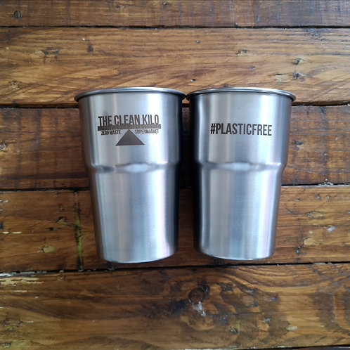 'TCK' #plasticfree Stainless Steel Pint Cup