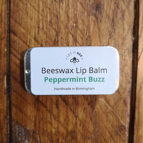 Peppermint Lipbalm - Made in Bournville