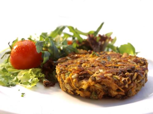 Veggie Lentil Burger (2pcs)