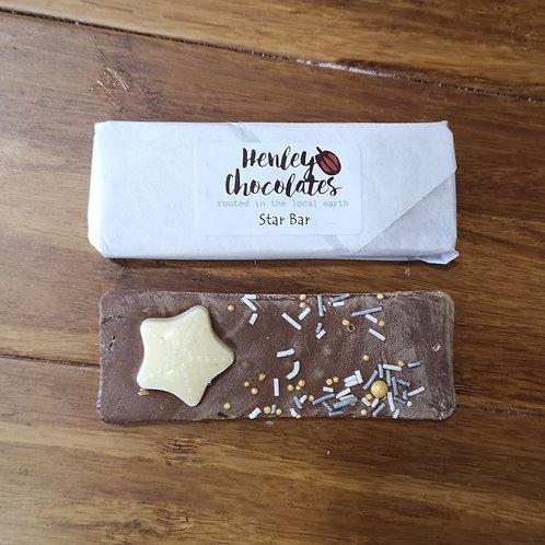 'You are a Star' Milk Chocolate Bar - Henleys Chocolate
