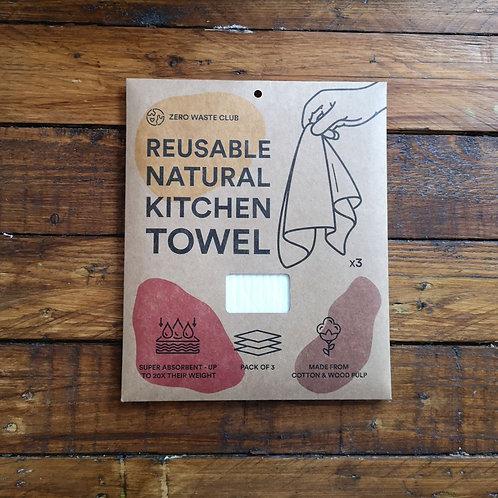 Reusable Natural Kitchen Towel