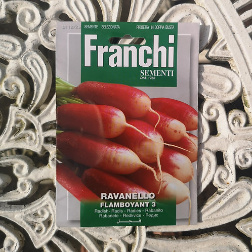 Radish from Franchi Seeds (1 pack allowance)