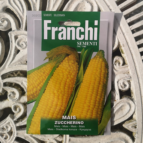 Sweetcorn from Franchi Seeds - 1 pack allowance