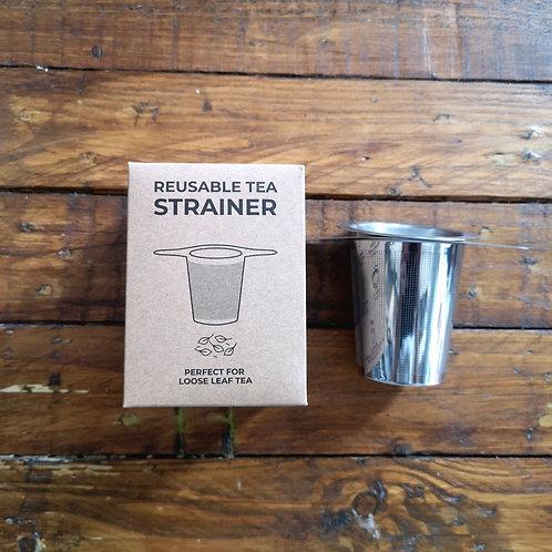 Reuseable mug tea infuser