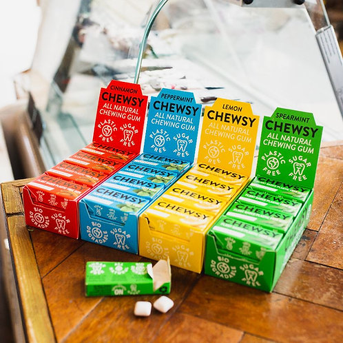 Chewsy Gum - plastic free (4 flavours available)