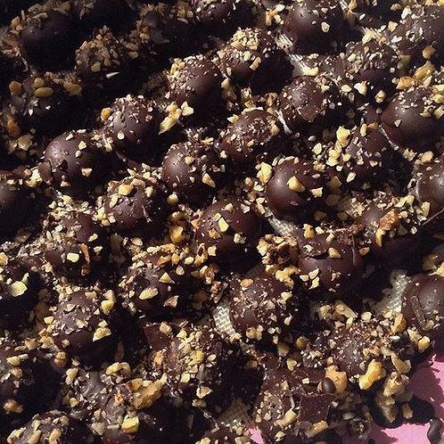Artisan Vegan Truffles Walnut Cream -  (4pcs) in presentation bo