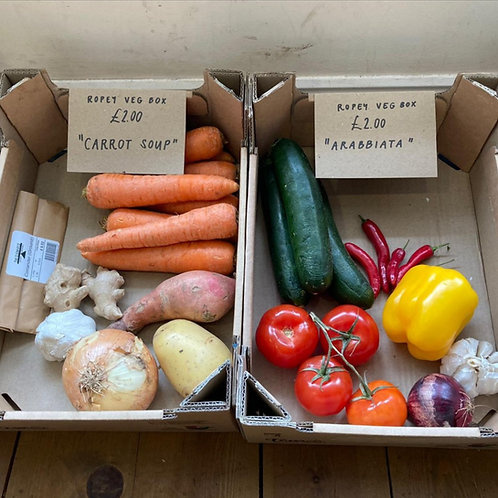 REDUCED 'Unloved' Fruit & Veg Box Mix £2 - COLLECTION ONLY