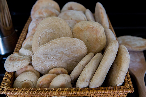 Locally Produced Organic Pita (5 for £2.50) - Wednesday to Saturday only