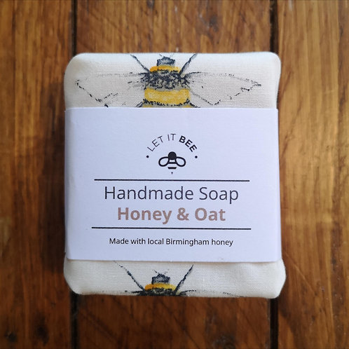 Honey & Oat Soap - Made in Bournville