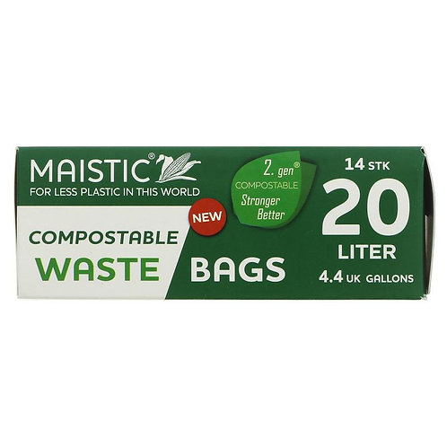 Maistic Bin Liners 20l - Compostable